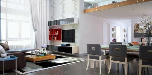 Thiết kế nội thất cho nhà phố diện tích nhỏ tại Quận 5