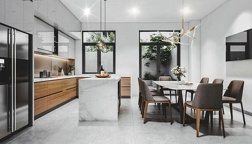 Thiết kế nội thất đẹp hiện đại cho anh Vinh Huyện Bình Chánh