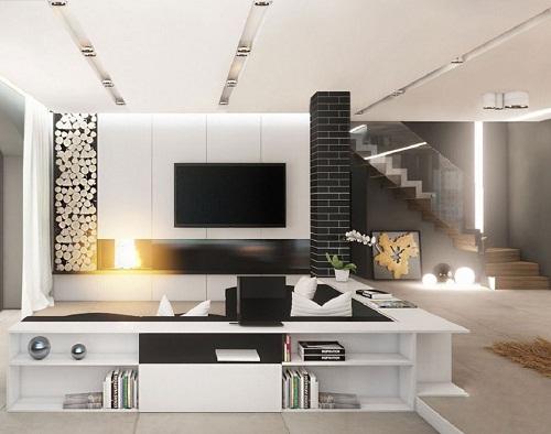 Thiết kế nội thất nhà phố 42 m2 hiện đại, thoáng mát