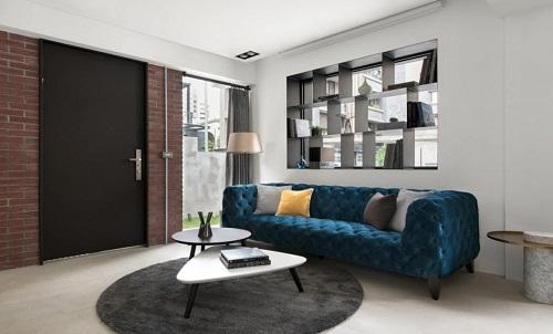 Thiết kế nội thất nhà phố của anh Tùng với không gian làm việc lý tưởng