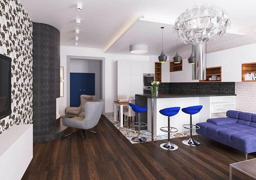 Thiết kế nội thất nhà phố chị Hiền -Quận Tân Bình