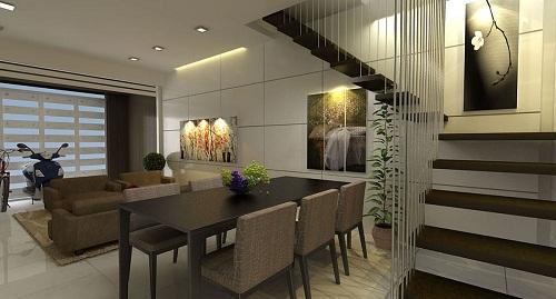 Thiết kế nội thất nhà phố đơn giản, ấm cúng cho nhà chị Vy