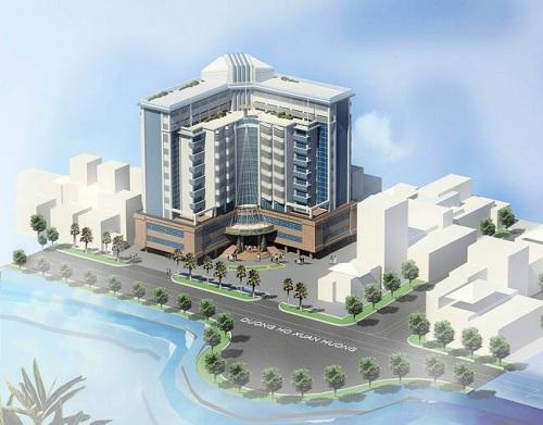 Mẫu thiết kế khách sạn cao cấp chữ L