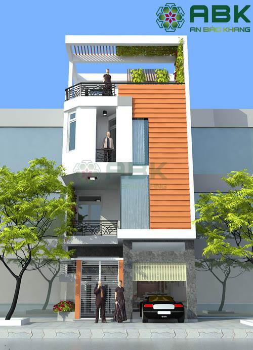 Đừng bỏ qua mẫu thiết kế nhà phố 4 tầng này M07