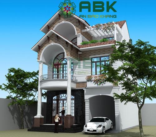 Cùng ngắm nhìn mẫu biệt thự tuyệt đẹp của anh Thế ở Quận Bình Chánh.
