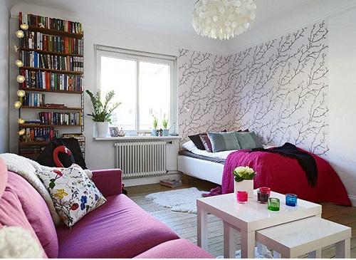 Phong cách thiết kế nội thất chung cư sang trọng, hiện đại