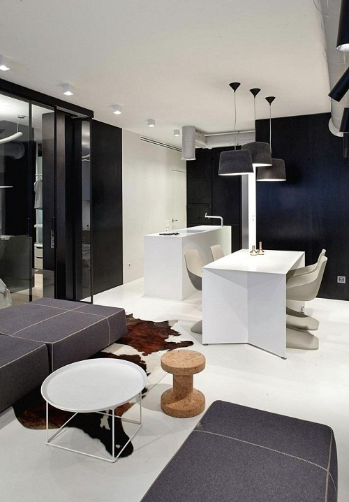 Thiết kế nội thất cho căn hộ trung cư hiện đại