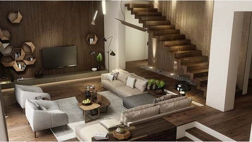 Ngắm nhìn thế giới nội thất sang trọng hiện đại gia đình anh Huynh – Củ Chi