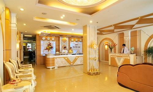 Thiết kế nội thất khách sạn sang trọng, hiện đại, ấn tượng
