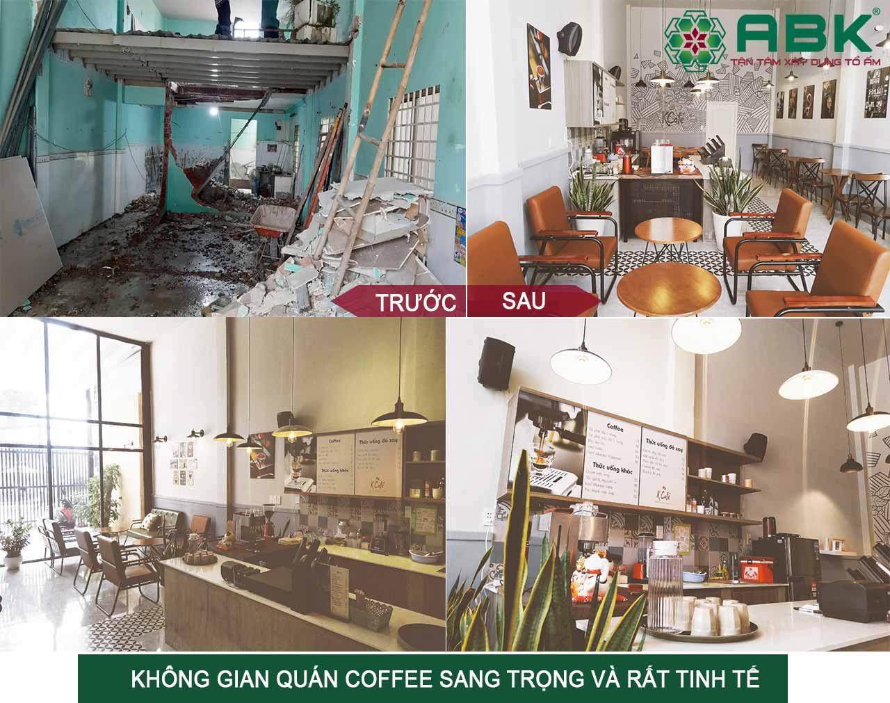 Sửa nhà cấp 4 thành quán cà phê